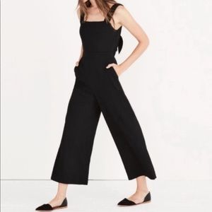 NWT Madewell // Open Bow Back Jumpsuit